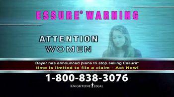 Knightline Legal TV Spot, 'Essure Warning' - Thumbnail 1