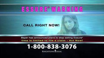 Knightline Legal TV Spot, 'Essure Warning' - Thumbnail 4