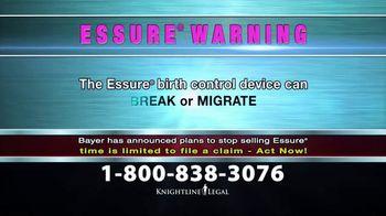 Knightline Legal TV Spot, 'Essure Warning' - Thumbnail 5