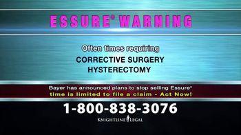 Knightline Legal TV Spot, 'Essure Warning' - Thumbnail 6