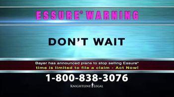 Knightline Legal TV Spot, 'Essure Warning' - Thumbnail 7
