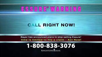 Knightline Legal TV Spot, 'Essure Warning' - Thumbnail 8