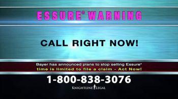 Knightline Legal TV Spot, 'Essure Warning' - Thumbnail 9