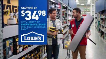 Lowe's TV Spot, 'Game-Changer: HGTV Home' - Thumbnail 8