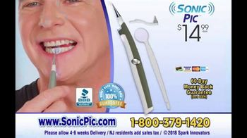 Sonic Pic TV Spot, 'At Home Dental Cleaning System' - Thumbnail 9