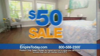 Empire Today $50 Sale TV Spot, 'Update Your Floors' - Thumbnail 2