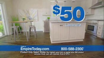 Empire Today $50 Sale TV Spot, 'Update Your Floors' - Thumbnail 4