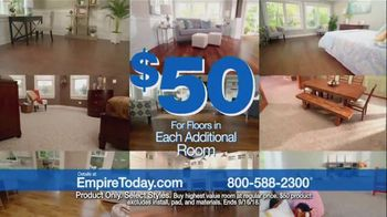 Empire Today $50 Sale TV Spot, 'Update Your Floors' - Thumbnail 7