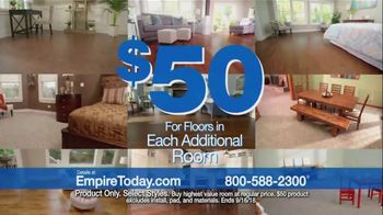 Empire Today $50 Sale TV Spot, 'Update Your Floors' - Thumbnail 8