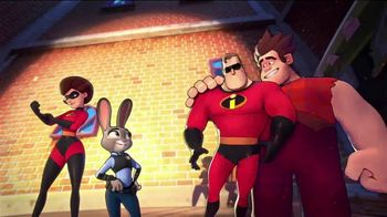Disney Heroes: Battle Mode TV Spot, \'The Incredibles\'