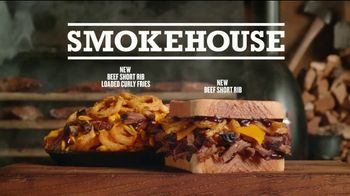 Arby's Smokehouse Sandwiches  TV Spot, 'Interesting' - Thumbnail 7