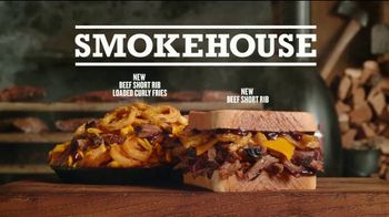 Arby's Smokehouse Sandwiches  TV Spot, 'Interesting' - Thumbnail 8