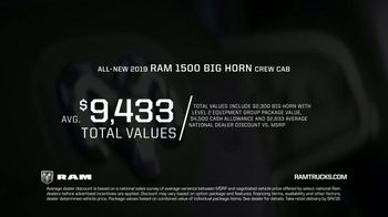 2019 Ram 1500 TV Spot, 'What a Difference: Most Luxurious' [T2] - Thumbnail 8