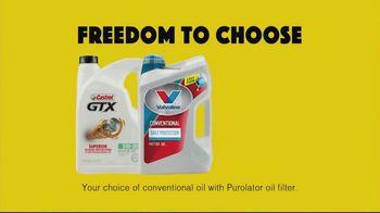 Advance Auto Parts TV Spot, 'Freedom to Choose Oil Change Bundles' - Thumbnail 4