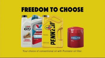 Freedom to Choose Oil Change Bundles thumbnail