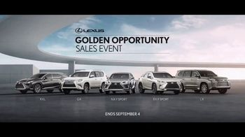 Lexus Golden Opportunity Sales Event TV Spot, 'Always in Your Element' [T1] - Thumbnail 10