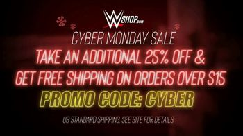 WWE Shop Cyber Monday Sale TV Spot, 'So Many Items' Featuring Sasha Banks, Bayley - Thumbnail 10
