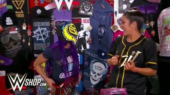 WWE Shop Cyber Monday Sale TV Spot, 'So Many Items' Featuring Sasha Banks, Bayley - Thumbnail 2