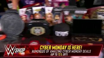 WWE Shop Cyber Monday Sale TV Spot, 'So Many Items' Featuring Sasha Banks, Bayley - Thumbnail 4