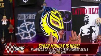 WWE Shop Cyber Monday Sale TV Spot, 'So Many Items' Featuring Sasha Banks, Bayley - Thumbnail 5