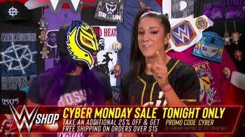 WWE Shop Cyber Monday Sale TV Spot, 'So Many Items' Featuring Sasha Banks, Bayley - Thumbnail 6