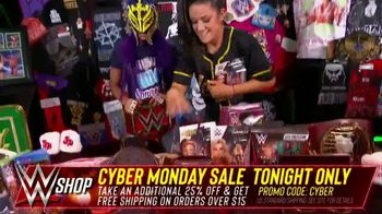 WWE Shop Cyber Monday Sale TV Spot, 'So Many Items' Featuring Sasha Banks, Bayley - Thumbnail 7