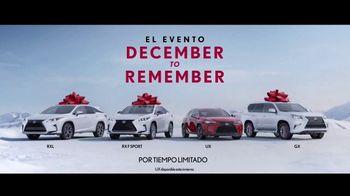 Lexus Evento December to Remember TV Spot, 'Un año para recordar' [Spanish] [T1] - Thumbnail 7