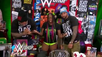 WWE Shop Post Cyber Monday T-Shirt Sale TV Spot, 'Keeping the Deals Going' Featuring Naomi, the Usos - Thumbnail 1