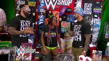 WWE Shop Post Cyber Monday T-Shirt Sale TV Spot, 'Keeping the Deals Going' Featuring Naomi, the Usos - Thumbnail 3