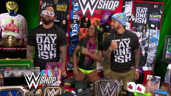 WWE Shop Post Cyber Monday T-Shirt Sale TV Spot, 'Keeping the Deals Going' Featuring Naomi, the Usos - Thumbnail 4