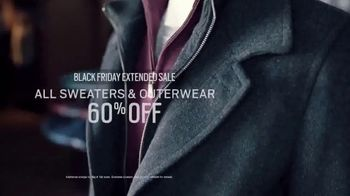 Men's Wearhouse Black Friday Extended Sale TV Spot, 'Sweaters and Outerwear' - Thumbnail 5