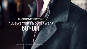 Men's Wearhouse Black Friday Extended Sale TV Spot, 'Sweaters and Outerwear' - Thumbnail 6