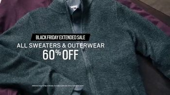 Men's Wearhouse Black Friday Extended Sale TV Spot, 'Sweaters and Outerwear' - Thumbnail 7