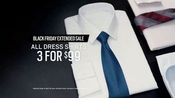 Men's Wearhouse Black Friday Extended Sale TV Spot, 'Sweaters and Outerwear' - Thumbnail 8