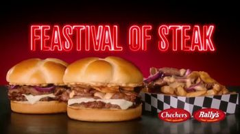 Checkers & Rally's $2 Feastival of Steak TV Spot, 'No Such Thing as Too Much Steak' - Thumbnail 2