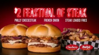 Checkers & Rally's $2 Feastival of Steak TV Spot, 'No Such Thing as Too Much Steak' - Thumbnail 9