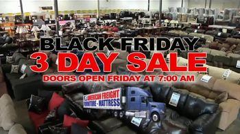 American Freight Black Friday 3 Day Sale TV Spot, 'Doors Open Friday' - Thumbnail 2