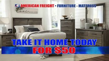 American Freight Black Friday 3 Day Sale TV Spot, 'Doors Open Friday' - Thumbnail 9