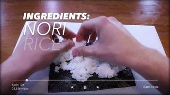 Amazon Fire TV Cube TV Spot, 'Sushi (Youtube)' - Thumbnail 2