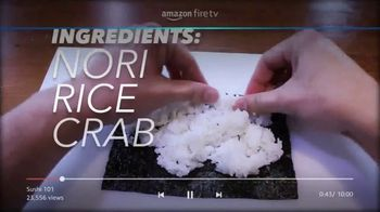 Amazon Fire TV Cube TV Spot, 'Sushi (Youtube)'