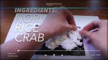 Amazon Fire TV Cube TV Spot, 'Sushi (Youtube)' - Thumbnail 4