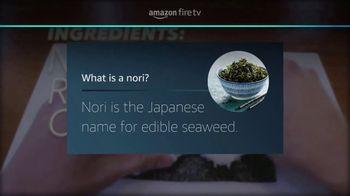 Amazon Fire TV Cube TV Spot, 'Sushi (Youtube)' - Thumbnail 6