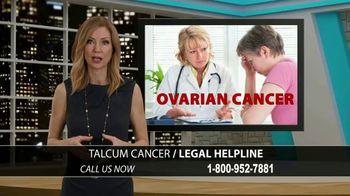 Onder Law Firm TV Spot, 'Talcum Cancer Helpline'