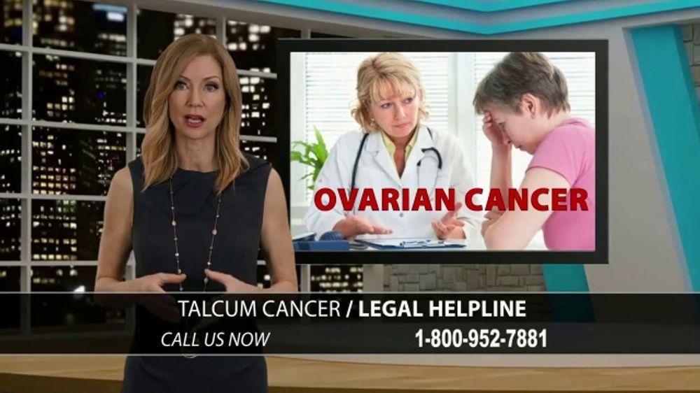 Onder Law Firm Tv Commercial Talcum Cancer Helpline Ispot Tv