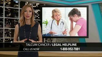 Onder Law Firm TV Spot, 'Talcum Cancer Helpline' - Thumbnail 1