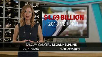 Onder Law Firm TV Spot, 'Talcum Cancer Helpline' - Thumbnail 4
