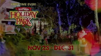 Six Flags Cyber Sale TV Spot, 'Millions of Lights: Cyber Monday' - Thumbnail 1