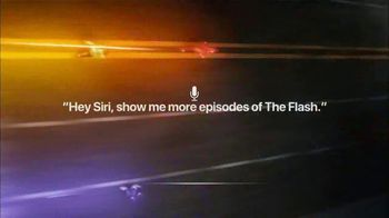 Apple iPhone Siri TV Spot, 'The CW: The Flash' - 1 commercial airings