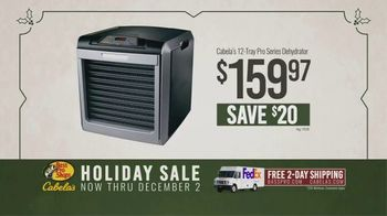 Bass Pro Shops Holiday Sale TV Spot, 'Game Camera and Dehydrator' - Thumbnail 4