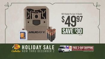 Bass Pro Shops Holiday Sale TV Spot, 'Game Camera and Dehydrator' - Thumbnail 3